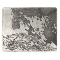 Rosmarin, 9,0 x 7,2 cm, Kaltnadelradierung