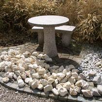 Kalksteine zur Einfassung von Baumscheiben