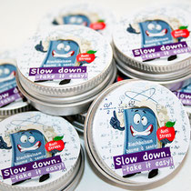 Slowdown take it easy! neutrales Bild
