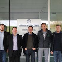 V.l.n.r.: A. Riegler (FH Hagenberg); P. Stögmüller (Oberaigner Powertrain GmbH); M. Einbock (Quehenberger Logistics GmbH); L. Köll (Energie Ingenieure Cons. GmbH); H. Leisch (Kreisel Electric GmbH); P. Lunter (Voltia GmbH); M. Krawinkler (Consistix GmbH)