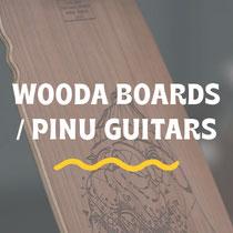 WOODA BOARDS PINU GUITARS