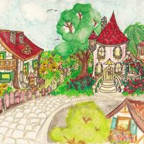 Wunderschönes Wohnviertel