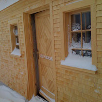 Fichte Holzschindeln im Allgäu