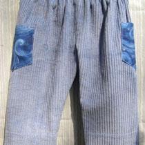 Hose KONRAD, Größe 80, Baumwollcord & Baumwollstoff, Hosenbeine zum Krempeln