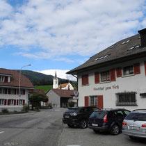 Hotel Reh Herbetswil via Oensingen Balsthal dann links Welschenrohr Gänsbrunnen