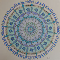 "Mandala 5 ""Das Blaue"""