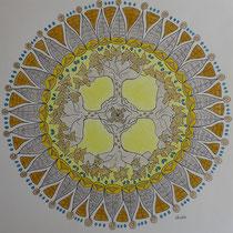 "Mandala 8 ""Die vier Himmelsrichtungen"""