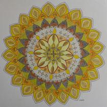 "Mandala 1 ""Das Gelbe"""