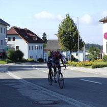 Anstieg nach St. Leonhard bei Freistadt
