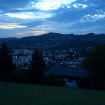 Blick zum Pöstlingberg