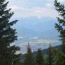 Blick auf Knittelfeld