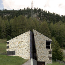 CONTEST NEW ONE FAMILY BUILDING, PONTRESINA 2011, 1TH POSITION, STUDIO D'ARCHITETTURA R. MAURIZIO MALOJA