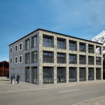 NEW APARTMENT BUILDING WITH COMMERCE, MALOJA 2012, STUDIO D'ARCHITETTURA R.MAURIZIO MALOJA
