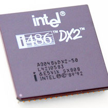 Intel A80486 DX2-50 SX808