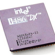 Intel A80486 DX-33 SX666