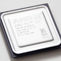 AMD K6-III 400 MHz AMD-K6-III/400AHX