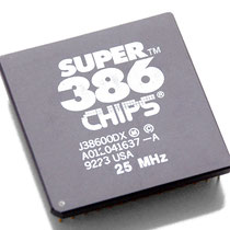 Chips & Technologies Super386 25 MHz J38600DX