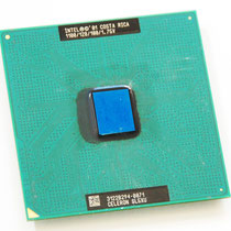 Intel Celeron 1100 MHz Coppermine SL5XU
