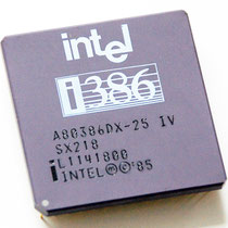 Intel A80386DX-25 IV