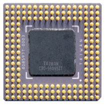 TI486DX2-G80-GA Texas Instruments 486 DX2 80 MHz