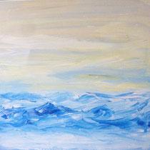 40 x 40 cm Acryl auf Leinwand