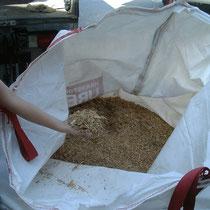 Rohrkolbendämmstoff im Big Bag