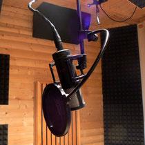 Vocal- recording Aufnahmeraum