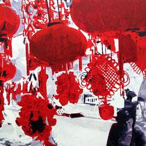 Shanghai | 90 x 120 cm | Öl auf Nessel 2013