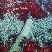 Invisible | 90 x  60 cm | Öl auf Nessel | 2015