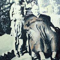 Großmutter | 80 x 60 cm | Öl auf Nessel 2014