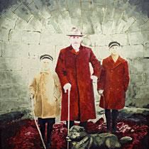 Monument | 170 x 130 cm | Öl auf Nessel 2014