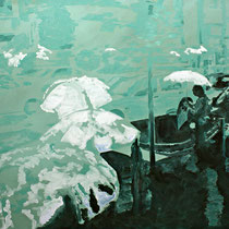 Rushhour | 90 x 120 cm | Öl auf Nessel 2013