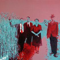Maisfeld | 50 x  60 cm | Öl auf Nessel | 2015