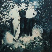 Brotherhood | 110 x  110 cm | Öl auf Nessel | 2015