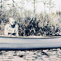 Reed | 85 x  120 cm | Öl auf Nessel | 2017
