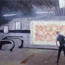 Floor | 80 x 120 cm | Öl auf Nessel | 2018