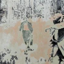 Dickicht | 40 x  50 cm | Öl auf Nessel | 2016