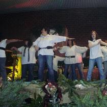 ...sie können auch noch hervorragend tanzen