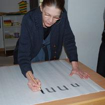 Die Meisterin der Kalligrafie – Kate Wolff