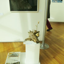 Installation : ..sag mir wo die Blumen blüh`n...3 Teile Dagmar Dölling