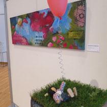 Gemeinschaftsausstellung KKG Stadthalle Germering Gudrun Ryssel