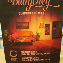 Plakat BLÜMCHEN unverblümt Febr. 2016