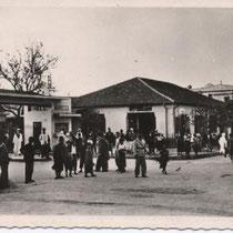 KENCHELA ALGERIE RUE LAMORICIERE ET RUE DE PARIS 25 AVRIL 1955