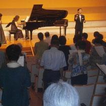 最後は観客も一緒に浜松市歌を合唱しました