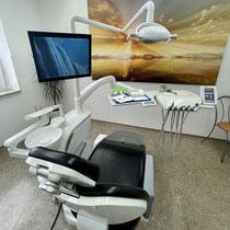 Einer der Behandlungsräume
