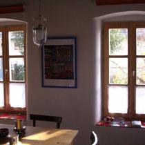 Wohnraum mit 2 Südfenstern
