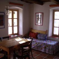 Wohnraum mit Ruhesofa