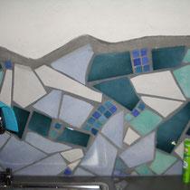 Küchendetail: Fliesenmosaik