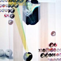 """Parallelo 1"", 2009, stampa digitale su carta, cm 78 x 83"