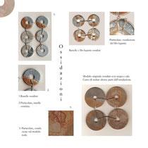 Installazione, 2007, progetto grafico, materiale aziendale di recupero